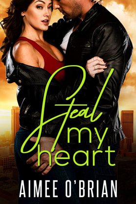 Romantic Suspense book cover design, kindle, ebook cover, amazon, Aimee O'Brian, Steal my heart
