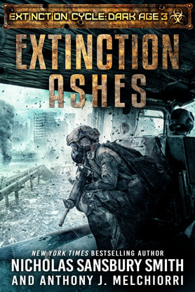Post-Apocalyptic book cover design, ebook kindle amazon, Nicholas Sansbury Smith Anthony J Melchiorri, Ashes