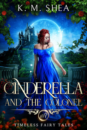 Young Adult Fantasy book cover design, ebook kindle amazon, K M Shea, Cinderella
