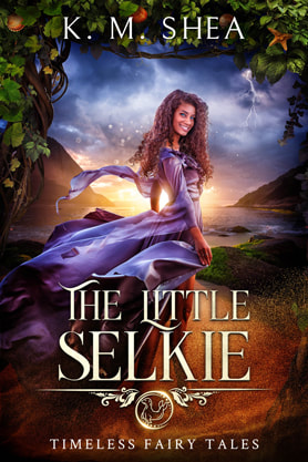 Young Adult Fantasy book cover design, ebook kindle amazon, K M Shea, Selkie