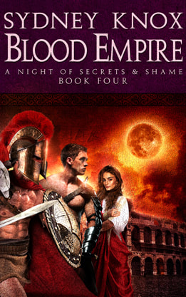 Historical Fiction book cover design, ebook kindle amazon, Sydney Knox, Blood Empire 4