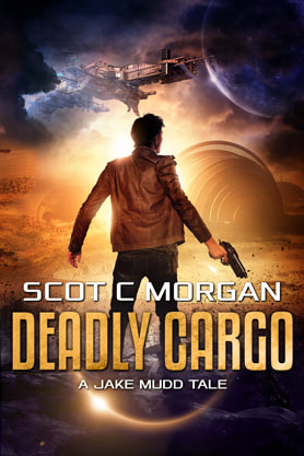 Science Fiction Fantasy book cover design , ebook kindle amazon, Scot C Morgan, Cargo